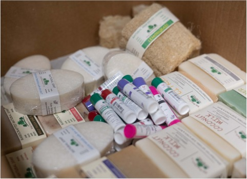 Natural soap, chapstick and other products from Connecticut producers.
